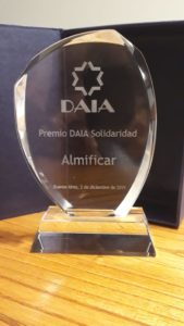 Premio DAIA – Solidaridad 2019